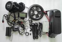 Kit + batteria: 8FUN BBS02 Bafang manovellismo 48v motore 750w 48v con la batteria 11.6ah Samsung cellule completato kit di conversione e-bike