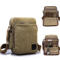 Wholesale High Quality multifunction Canvas Bag Casual Travel Small Women s Crossbody Shoulder Bag Men Messenger Bags Outdoor Handbag