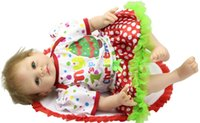 Cheap Silicone Baby Doll reborn 22 Inch Lifelike Baby Doll toy for girl Reborn Baby Alive Collectible Doll Reborn Handmade Baby Toy
