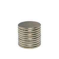 Wholesale 10pcs NdFeB Rare Earth Super Strong Powerful Small Round Neodymium Magnet N50 x1mm x mm order lt no track