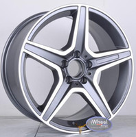 alloys pcd - Car Replica ALLOY WHEEL x8 x8 PCD x112 CB66 ET35 Gunmetal MF Rim Mag wheel for Germany Vehicles M B series
