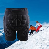 Wholesale WOLFBIKE Protective Hip Pad Padded Ski Shorts Winter Skiing Skating Snowboarding Impact Racing Protection Black Size M XL