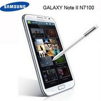 Wholesale Unlocked Original Refurbished Samsung Galaxy Note II N7100 Cellphones MP Camera GPS WiFi Android OS Mobile Phone