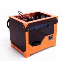 Wholesale Metal assembled Migbot S1 D printer high Resolution PLA ABS Plastic Self replicating Machine with LCD screen Delivery UPS