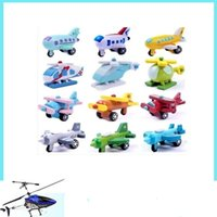model airplane - 2015 New wooden mini airplane models kit wood plane baby learning education toys gifts for children Kids