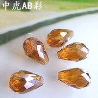 ab products - New Product x15mm Crystal AB Color Teardrop Faceted beads DIY jewelry accessories glass crystal beads much Color you can choose