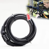 Wholesale High Quality Brand New Bike Lock Bicycle Digital Code Password Combination Lock Cable HW051