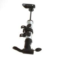 Wholesale Bike parts Mini Bicycle Pump Gauge Bike Air Stick Presta Schrader high pressure pump