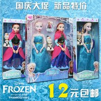 disney wholesale - Teddy Disney Princess dolls shining beauty of Anna Y9958 Frozen Girl Barbie toys