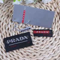 accessories labels - sets retail Fashion brand garment accessory SET collar label brand tag Woven clothes lables