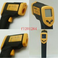 Wholesale Fedex DHL Hot sale DT8380 Infrared IR Laser Non Contact Digital Thermometer Infrared Thermometer