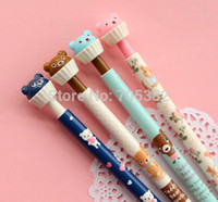 Wholesale Cute animal shape Mechanical Pencils gift pencil for writing stationery supplies dd