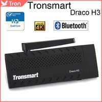 Tronsmart Draco H3 4K H.265 TV Dongle Mini PC Android TV Box Allwinner H3 Quad Core RAM 1G 8G ROM HDMI BT4.0 OTA Android 4.4