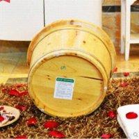 bath tub height - Cedar wood top wooden barrels height cm buckets footbath bucket barrel foot bath tubs vats basins Foot Care Tools
