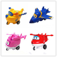 best selling toys for boys - Best selling CM Super Wings Mini Planes Toy Transformation Robots JETT Action Figure for Boys Birthday Gift Brinquedos