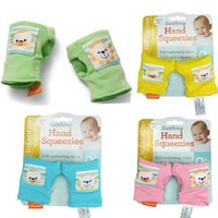 Wholesale 1Pair Baby Cotton Gloves Prevent Scratching Mittens months Baby Safety Gloves Cute Animal Figure