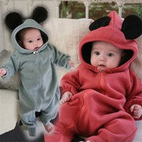 bebe hoodies - Newborn Baby Rompers Winter Warm Baby Jumpsuits Baby Boys Girls Clothes Hoodies Boys Girls Rompers ropa bebe recien nacido