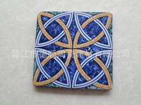 antique ceramic tile art - Small ceramic tiles X15cm Art Motif retro tile floor tile antique tile mash DS