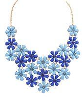 Wholesale Charm Jewelry Bib Choker Chunky Statement Chain Necklace For Women cxt96643