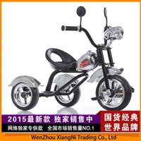 big red tricycle - 2015 Harley Tricycle Baby Stroller Children Child Bicycle Seat Large Big Wheel Motorcycle Ride On Car Drift Trike Kids Bike order lt no trac