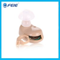 Wholesale Best Sound Amplifier Adjustable tinnitus hearing aid earphone for the deaf S