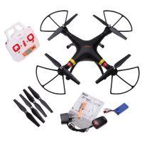 Bon Marché Syma x8c venture-<b>Syma X8C Venture</b> avec 2MP Caméra Grand Angle 2.4G 4CH RC Quadcopter avec Transmetteur RTF-Noir
