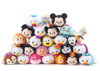 accessory children video - top quality dispicable me frozen plush toys kids child backpack Accessories japanese tsum cartoon plush accessories sreen brush