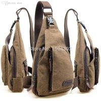 Wholesale New Men Messenger Bags Sport Canvas Male Shoulder Bag Casual Outdoor Travel Hiking Military Messenger Bag LX B9076