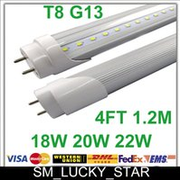 Wholesale X50 G13 T8 Led Tubes Lights SMD M W W W Warm Cool Pure White Led Bulbs Lamps Feet CE RoHS No Flickering