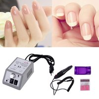 Wholesale Hot set Manicure Polishing tool V W EU Plug Electric Nail Manicure Drill Machine Suitable for pedicure and manicure