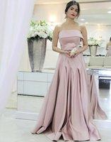 art waterfalls - Arabic Women Elegant Long Evening Dress Art Deco inspired Neck Waterfall Dresses Dubai Cheap A Line Ruffle Satin Belt Prom Party Gowns