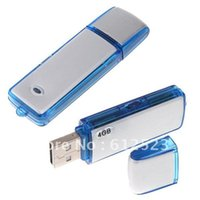 usb flash drive factory price - Factory Price in Mini GB USB Digital Audio Voice Recorder Dictaphone Flash Drive Disk WAV Fomat DHL EMS