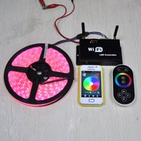 led controller - 2015 Rgbw Led Wifi Rgb Controller a Output Current Spi Signal for Android Or Ios System Controlled Both By Remote Controller And Wifi