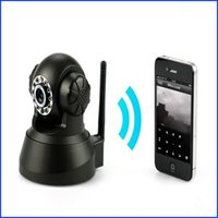 Wholesale New P2P Plug Play WiFi Wireless IPCam Two Way Audio IR Night Vision PanTilt CCTV Security Webcam Network IP Camera Wireless