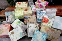 Wholesale Multi patterns Gift Wrapper Handmade Soap Wrapping Paper Oil Wax Packaging Papers for X mas cm