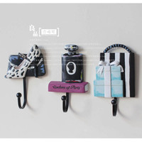 Wholesale High heeled shoes coat hook wall hanging home decoration coat hooks