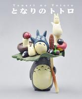 Wholesale Hayao Miyazaki this Totoro cat Kiki Gigi toys can be stacked creative toys gift
