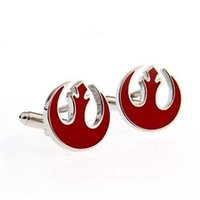 Wholesale Red Bird Star Wars Cufflink Pair Retail Promotion