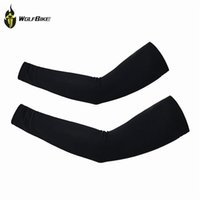 arm sleeves - 2016 New Men Women Cycling Arm Warmers Sleevelet Cover Outdoor Bicycle Sun Protection Arm Sleeve Color