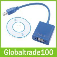vga to usb converter - USB to VGA Multi display Adapter Converter External Video Graphic Card Free DHL Shipping