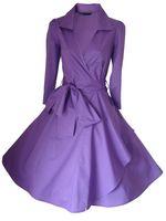 audrey hepburn clothing - Plus Size s Clothing Audrey Hepburn Dress s Dresses Vintage Rockabilly Slim Retro Long Sleeve s dress