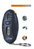 0.19 - Key Chain Alcohol Tester LED Breathalyzer Alcohol Breath Analyze Tester BAC Max