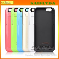 Wholesale 3200mAh External Power Bank Pack Backup Battery Charger Case with Stand for iPhone quot with Retail Package
