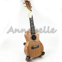 al por mayor string musical instrument-23inch Ukulele Concierto Uke Pequeña Guitarra Cuatro Cuerdas Instrumentos Musicales Tigre Okoume Madera