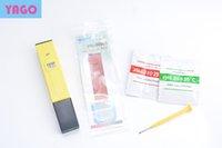 Wholesale 2015 hot selling Aquarium Digital PH Meter Tester Pocket Pen Aquarium water quality tester by DHL