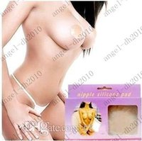 Pads & Enhancers   Sexy Nipple Silicone Lady Summer Pad Cover Adhesive Reusable Invisible Lift Bra Pad Cover In Retail Box Free shipping