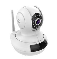 Acheter Surveillance vidéo ip-Caméra sans fil LeFun Surveillance IP Baby Monitor WiFi Caméra HD 720P Nanny Cam Video Recording Play La fonction Plug Pan Tilt Mouvement à distance Détection