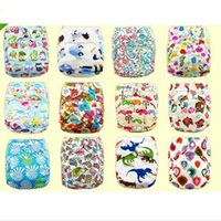 Wholesale Best Price Beautiful Design Baby Infant Adjustable Printed Cloth Reusable Nappy Diapers Covers Liner Insert Easy To Clean