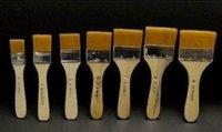 Wholesale Oil painting scrub nylon wool scrub brush oil paint brush