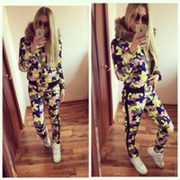 Women american football pads - Newst Winter Fashion Women Cotton padded clothes Sets Short Jacket Pants Tow Pieces Fur Hooded Fashion Winter Casual Women Tracksuits